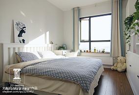 典雅75平田园二居设计美图卧室美式田园设计图片赏析