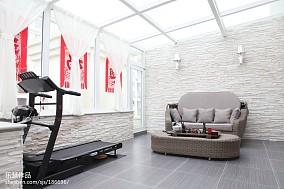 精美142平米现代复式休闲区装修效果图片欣赏