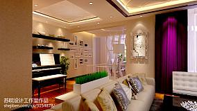 热门复式客厅欧式装修图片