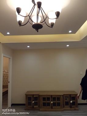 84平米二居客厅美式装修图片大全