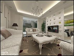 小户型欧式奢华客厅装修效果图大全2014图片