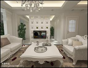 精美小户型客厅欧式装饰图