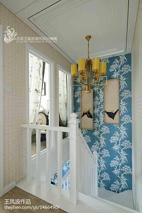 平中式样板间装潢图样板间中式现代家装装修案例效果图