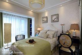 精选中式卧室装饰图片样板间中式现代家装装修案例效果图