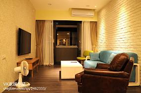 精美86平米欧式小户型客厅装修欣赏图