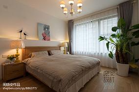 悠雅28平混搭小户型卧室装修案例