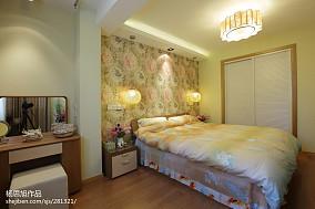 精选75平米混搭小户型卧室装饰图片欣赏