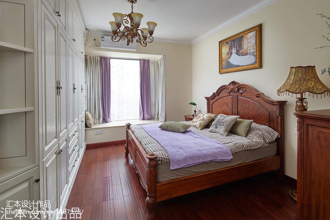 大小92平欧式三居卧室装修设计效果图卧室
