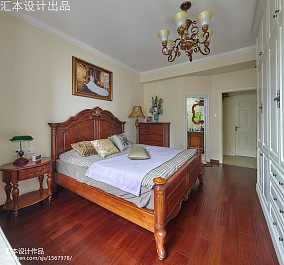 热门100平米三居卧室欧式装饰图片