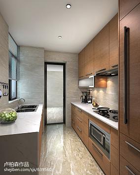 精选118平米现代别墅厨房装修欣赏图片大全