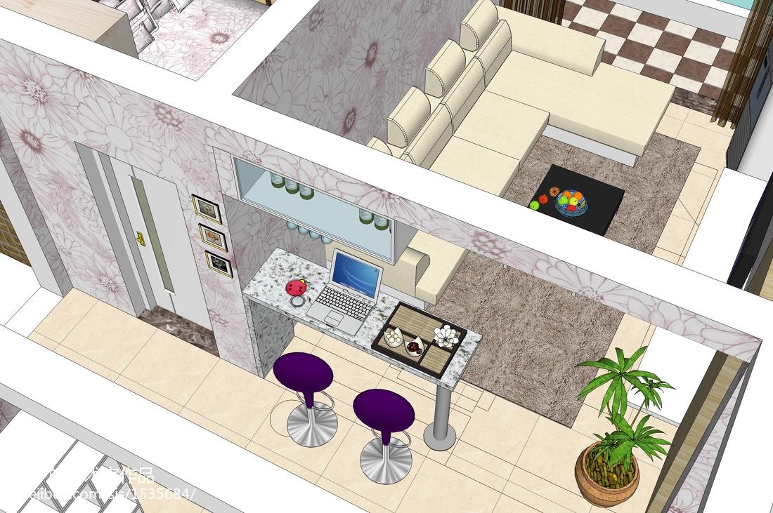 欧式风格餐厅吊顶效果图厨房2图欧式豪华餐厅设计图片赏析