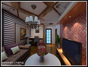 精美面积91平东南亚三居装修图片大全
