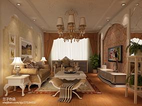 精选欧式二居客厅装修欣赏图