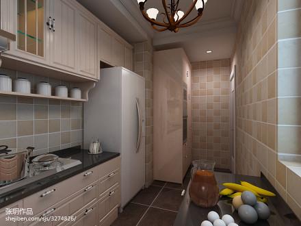 美式整体厨房设计图