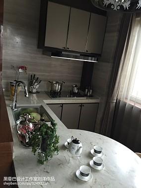2018面积87平小户型厨房现代装修欣赏图