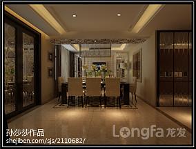 热门面积114平复式餐厅现代装修欣赏图片大全