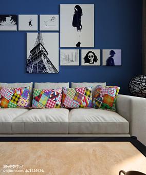 精选面积77平东南亚二居客厅装修设计效果图片大全