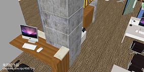 美式风实木橱柜