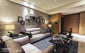 精美面积78平小户型客厅现代实景图片