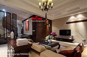 loft装修样板房客厅