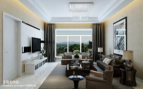 2018大小80平现代二居客厅装修效果图片大全