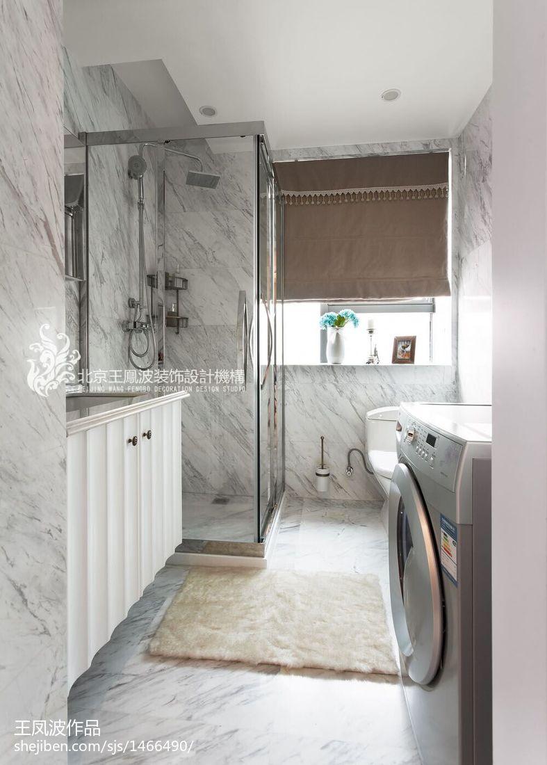 清新现代卫浴装饰设计图大全
