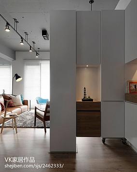 2018面积83平小户型玄关现代装饰图片欣赏