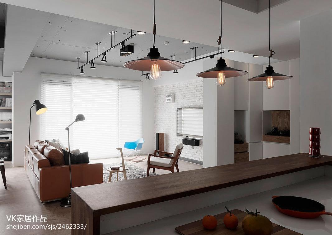 热门70平米现代小户型客厅效果图片欣赏客厅现代简约客厅设计图片赏析