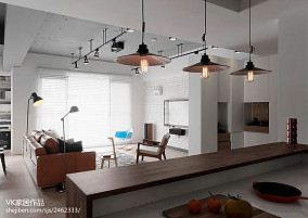 热门70平米现代小户型客厅效果图片欣赏