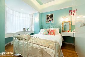 清新田园风格卧室飘窗设计