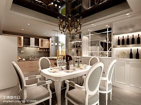 精美113平米欧式复式餐厅装修效果图片大全