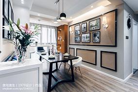 热门大小105平现代三居餐厅设计效果图