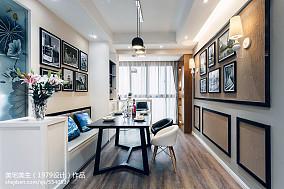 2018精选103平米三居餐厅现代装修图片大全