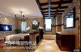 精美面积142平美式四居卧室装修效果图