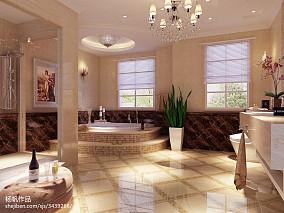 洗手间地砖效果图大全