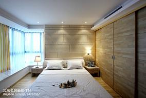 面积82平小户型卧室现代装饰图片大全
