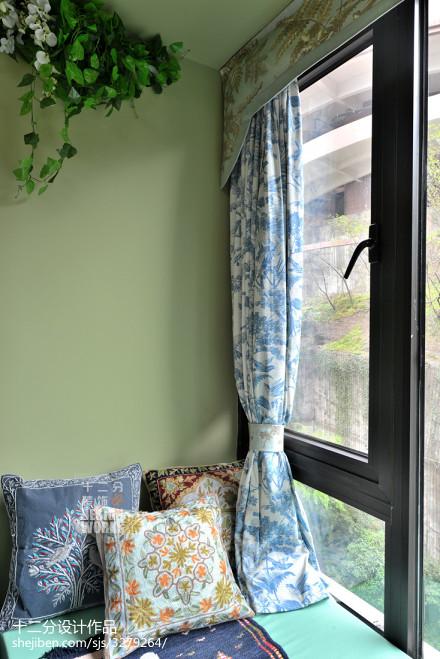 精美141平米四居卧室欧式装修欣赏图片大全卧室3图