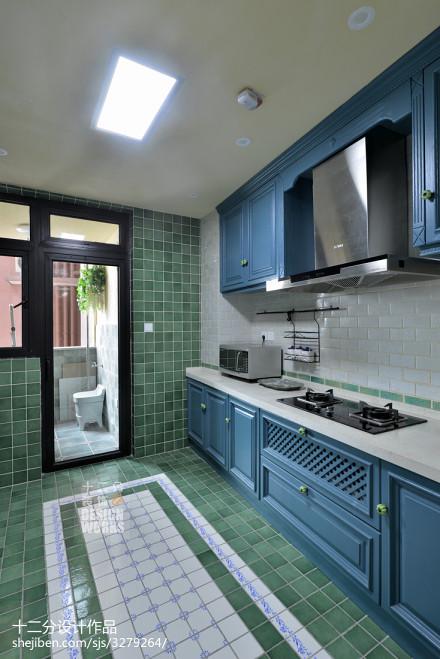 温馨108平欧式四居设计案例