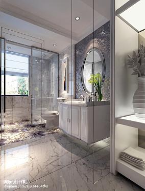 地中海风格家庭小卫生间装修