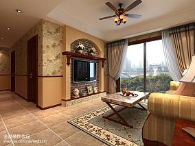 质朴90平美式三居装饰美图