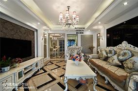 精美面积122平欧式四居客厅装修效果图片大全