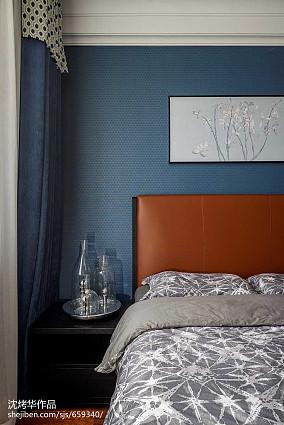 2018119平米四居卧室现代装修设计效果图