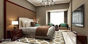 2018精选面积76平小户型卧室中式装修实景图片欣赏