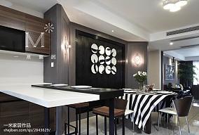 精美97平米三居餐厅现代装修图片大全