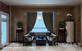 120平米四居休闲区中式装修图片