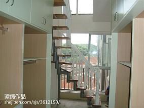 现代田园风格客厅设计效果图