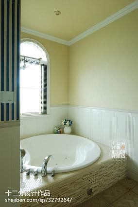 精美别墅卫生间混搭欣赏图片卫生间1图潮流混搭设计图片赏析
