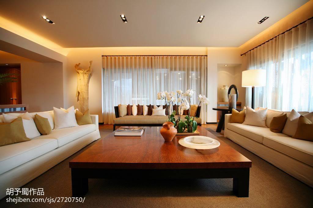 现代简约时尚风格客厅装修设计