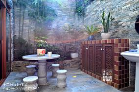 精美面积133平复式花园美式欣赏图片大全功能区1图美式经典设计图片赏析