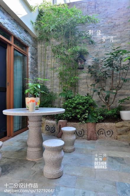 平米美式复式花园装修实景图片大全功能区
